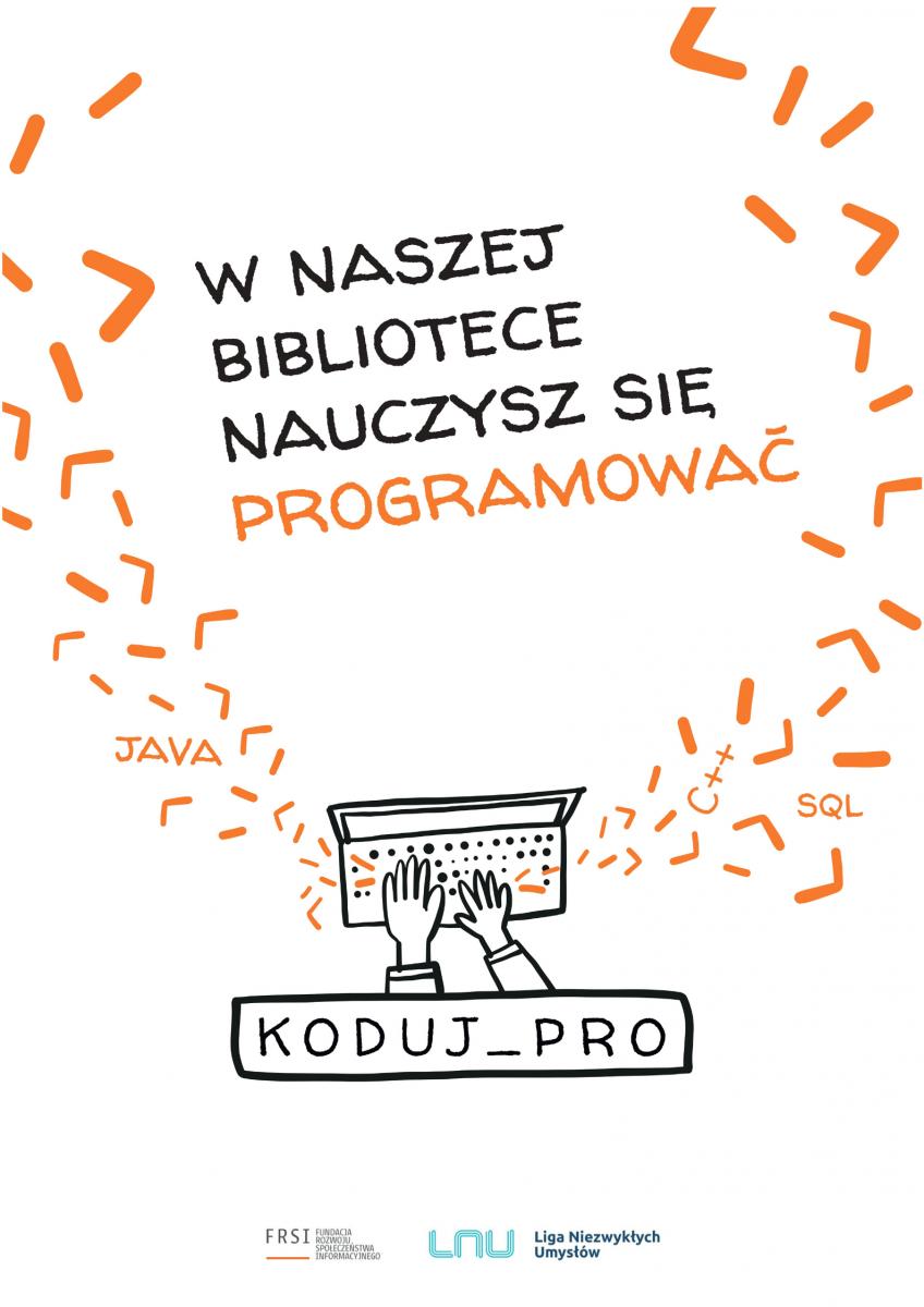 W naszej bibliotece nauczysz się programować. Koduj_Pro.